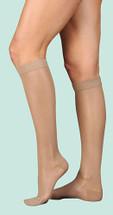 Juzo Naturally Sheer Knee High 15-20, 20-30 and 30-40 mmHg