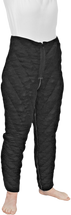 Solaris Pants Chevron Style Tribute Custom Night Compression Garment is recommended for clients with normal flexibility and range of motion (Bilateral chaps are suggested for clients that require easier donning). Closely resembles running pants; Midline and lateral zippers are included on this garment. Please use two order forms for legs and indicate in the comments section zipper preference (proximal to distal or distal to proximal).