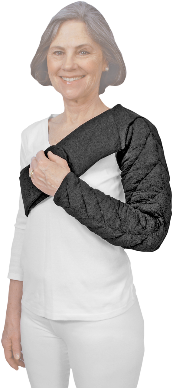 13eeb86d08 Wrist to Clavical Chevron Style Tribute Night Custom Compression Garment in  black provides shoulder coverage and
