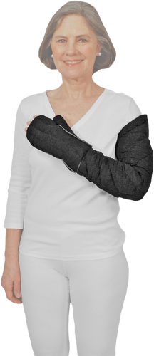 Wrist to Axilla Chevron Style & Glove Tribute Night Custom Compression Garment
