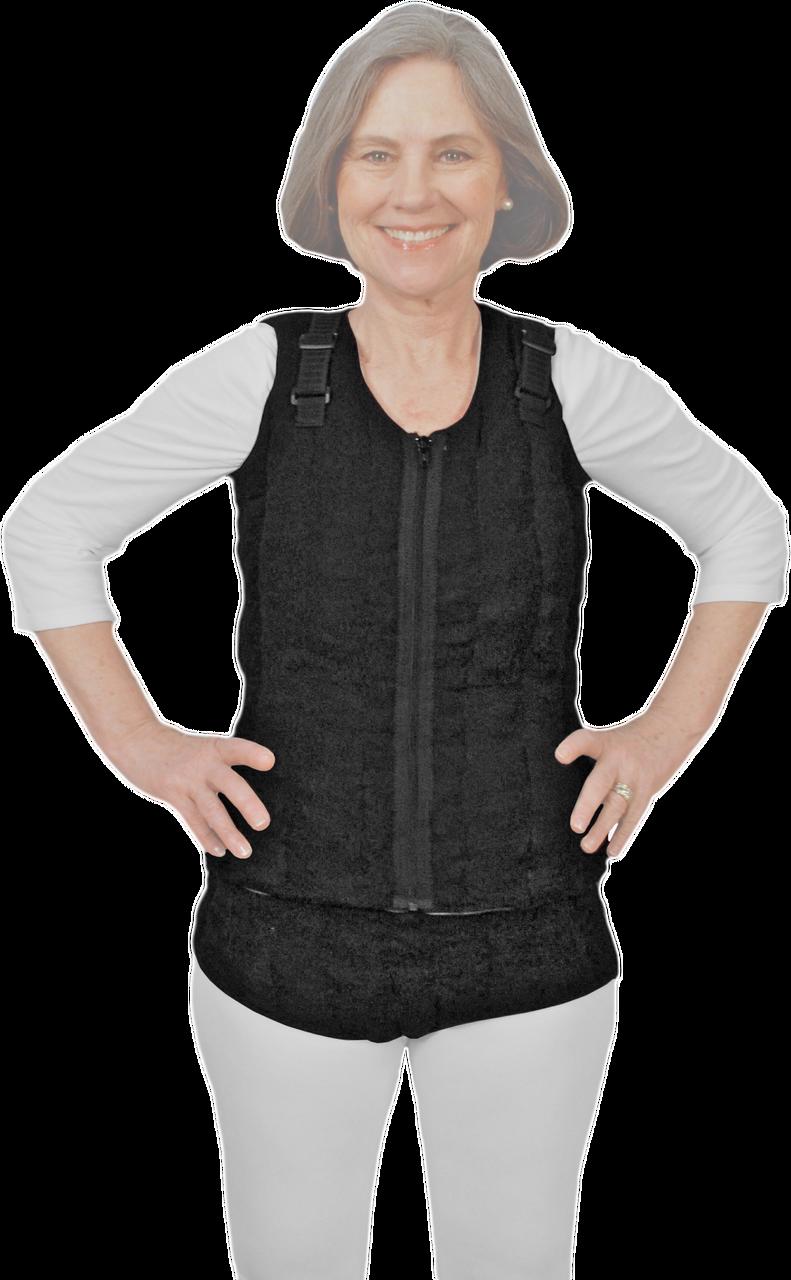 872353319e Vest & Lower Torso Vertical Style Tribute Night Custom Compression Garment  - Survivor Room