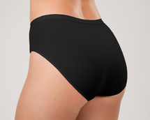 Classic Brief Panty by Knock Out! in black
