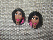 Judy's JEMs Clay Customizable  face Support Earrings