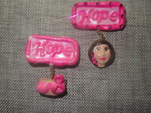 Judy's JEMs Clay Customizable Small Support Broach