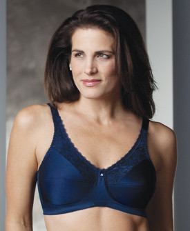 New Trulife Naturalwear Barbara Lace Accent Softcup Mastectomy Bra 210