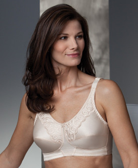 New Trulife Naturalwear Isabel Scalloped Embroidered Softcup Mastectomy Bra 290