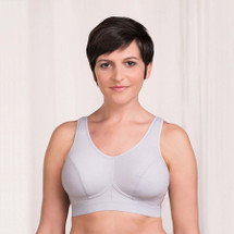 Trulife Sophia Activity/Sports Bra in  White, Black, Grey colors.