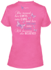 Comfy Chemo Port-Accessible|Chemotherapy Believe Women's Shirt - Pink