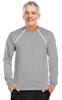Men's Port-Accessible Long Sleeve Chemo Shirt by Comfy Chemo in Grey