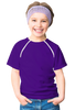 Kid's Chemo|Port-Accessible Shirt by Comfy Chemo - Purple