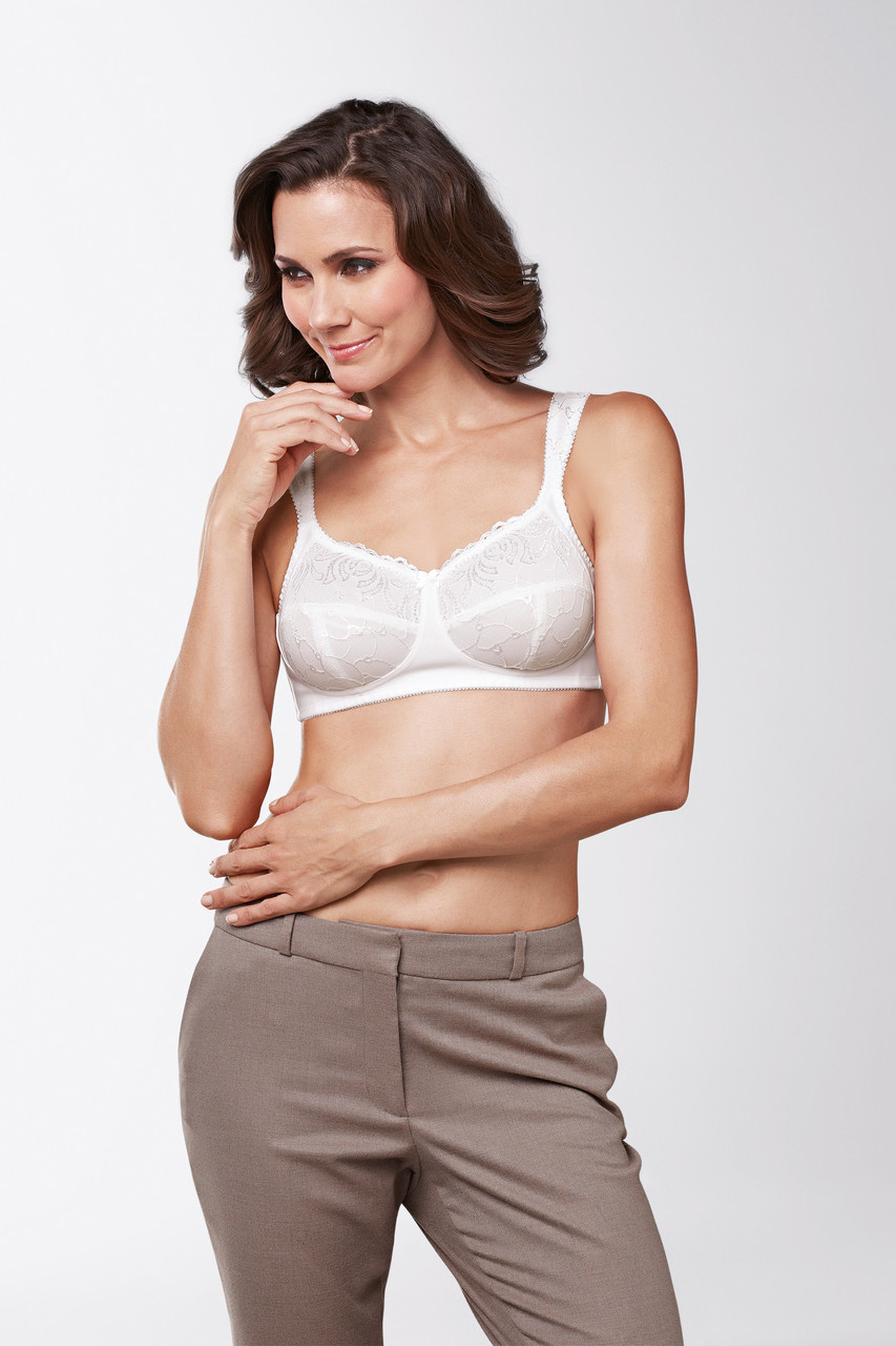 280230bb4a Amoena Carmen Soft Cup Mastectomy Bra - Survivor Room