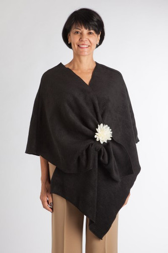 Black Fleece Chemo Wrap by Wrapped in Love