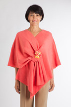 Coral Fleece Chemo Wrap by Wrapped in Love