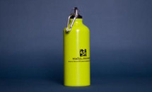 Ready For Recovery Water Bottle in light green