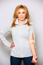 Chemo clothing, dialysis shirt, clothing for dialysis patients, port accessible clothing, clothing for chemotherapy