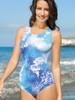 Amoena Rockport One Piece Mastectomy Twist Back Tank - Size 18 only