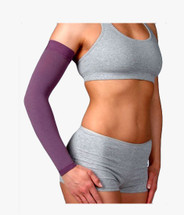 Juzo Soft Dream Sleeve in Seasonal Colors with Silicone Border 20-30 or 30-40 mmHg
