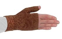 Lymphedivas Compression Gauntlet Bodhi Mocha Pattern