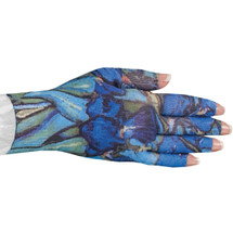 Lymphedivas Compression Glove - Irises Pattern