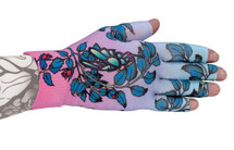 Lymphedivas Compression Glove - Kiku Pattern