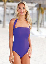 Nicola Jane Halterneck One Piece Mastectomy Swimsuit