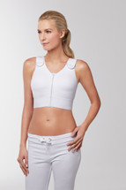 Compression Pocketed Mastectomy Bra