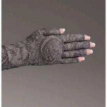 Lymphedivas Compression Glove - Midnight Lace Pattern