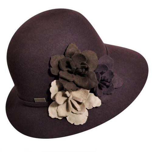 Betmar Wool Fiona Cloche Hat