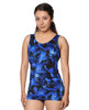 THE Mastectomy One Piece Sheath Swimsuit in Electric Print - Style 915-60 754