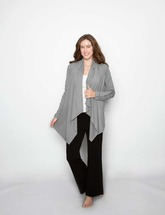 Drain Management/PICC Line Access - Heal With Style Wrap Cardigan by Eva and Eileen