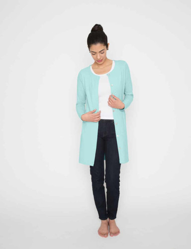 Drain Management- Heal With Style Tunic by Eva and Eileen in Icy Teal