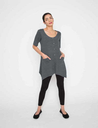 Drain Management- Heal With Style Laid Back Lounge Shirt by Eva and Eileen in Evening Hush