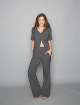 Sweats No More Lounge Pants by Heal With Style in Evening Hush