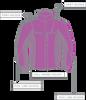 Men's Red Polar Fleece Jacket for Chemo & Dialysis by Chemo Cozy