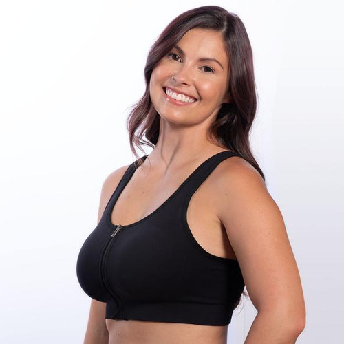 HuggerVIDA by Prairie Wear - Post Surgical/Mastectomy Recovery Compression Bra/Mastectomy Sports Bra