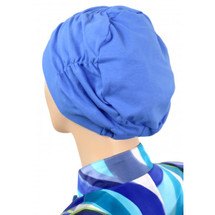 Shirred Turban Cap for chemo patients