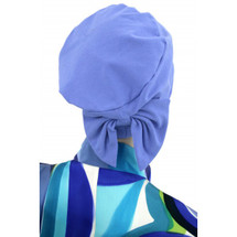 Two Way Cap with removable bow for chemo patients