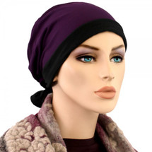 Reversible 2 in 1 Mini-wrap for cancer patients by Hats for You