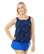 THE Mastectomy Blouson Swim top separate  in Star Connection