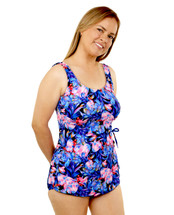 Classic Mastectomy Sarong Sheath in Botanical Garden  Print by T.H.E.