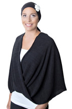 Twist Front Chemo Wrap by Wrapped In Love