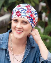 Hearts with Heart Premium 3 Turban - Caps for Chemo Patients