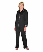 Cool-jams Sophia Pajama Set in Black