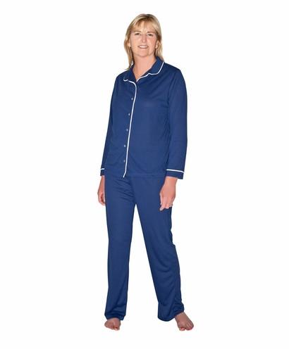 Cool-jams Sophia Pajama Set in Navy 82d86f64b