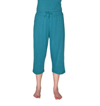 Cool-jams Mix and Match Capri Pant in Periwinkle, Turquoise, Pink, and Black