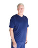 Cool-jams Wicking Men's V-Neck T-Shirt in Navy, Steel, and Black