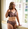 Soft Contour Matching Panty by American Breast Care in leopard