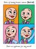 Cancer Girl, LLC - Humorous Perks of Having Cancer Greeting Card