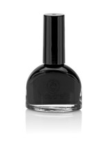 Water based nail polish called Vex by Acquarella - black