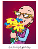 Cancer Girl, LLC - Simply to Say...Thinking of You Greeting Card